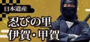 Pueblo Iga, Koga de la herencia que roba en Japón